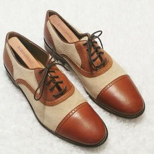 Johnston & Murphy 1850 Cap Toe Spectator